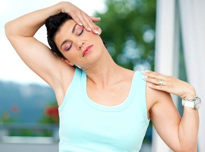 Neck pain relief exercise