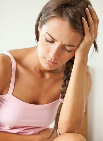 Head back and neck pain during period