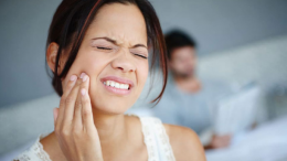 toothache and neck pain