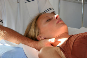 Chiropractor Treating Pain