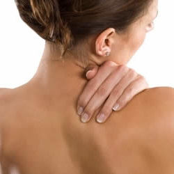 Right side of neck pain