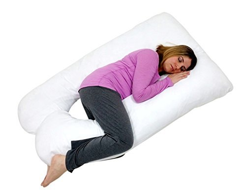 40 Best Pregnancy Pillows For Neck Pain And Back Pain Interesting L Shaped Pillow Cover