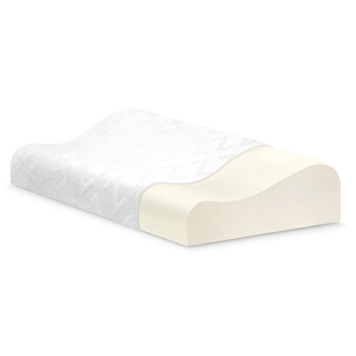 10 best contour pillow for neck and back pain reviews for Best pillow for neck and shoulder tension